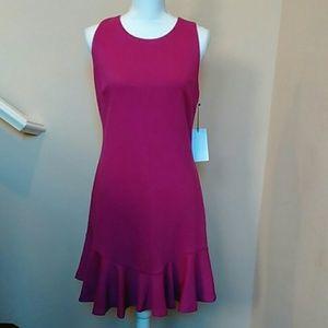 NWT Fushia Ivanka Trump Dress Size 10